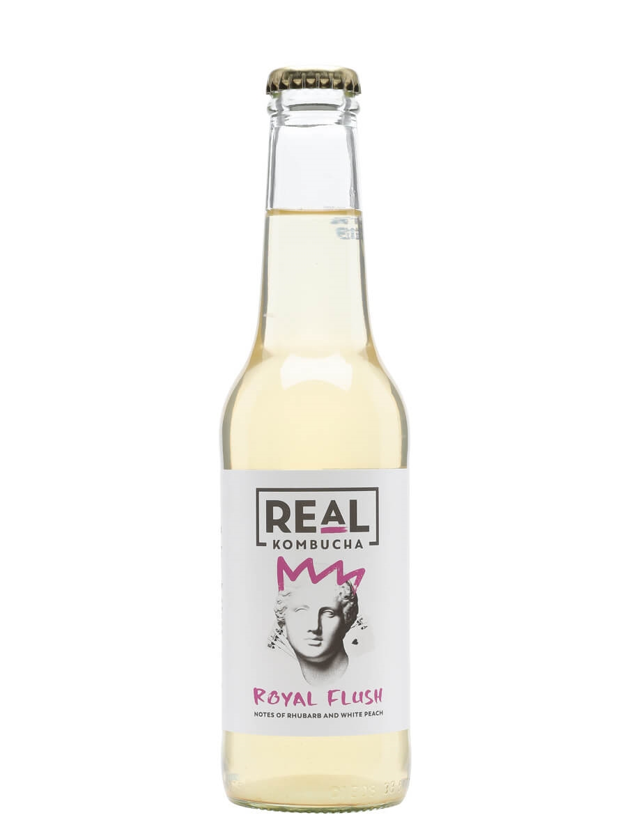 Real Kombucha Royal Flush - Single Bottle : The Whisky Exchange