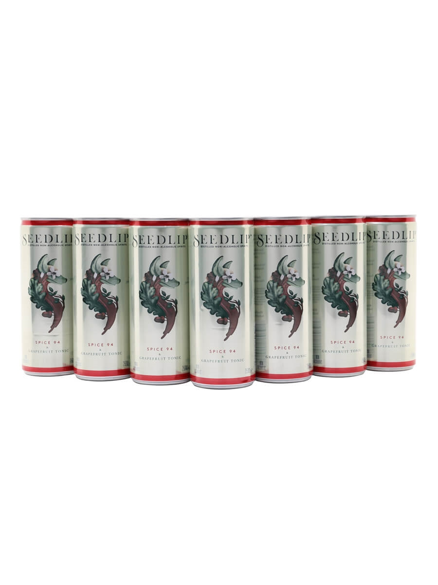 Seedlip Spice and Grapefruit Tonic / Case of 12 Cans