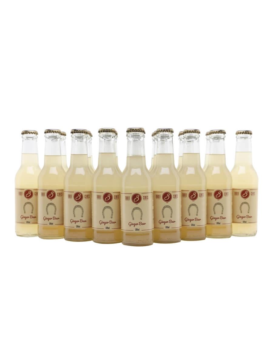 Three Cents Ginger Beer / Case of 24 Bottles