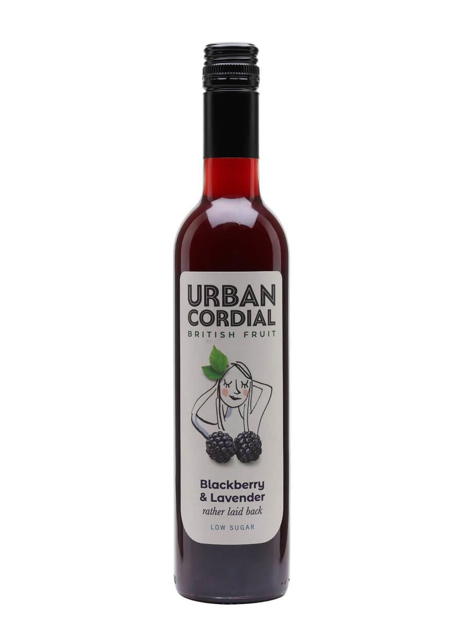 Urban Cordial Blackberry and Lavender / Half Litre