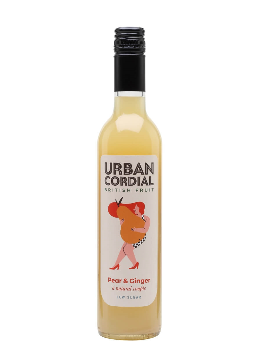 Urban Cordial Pear and Ginger / Half Litre