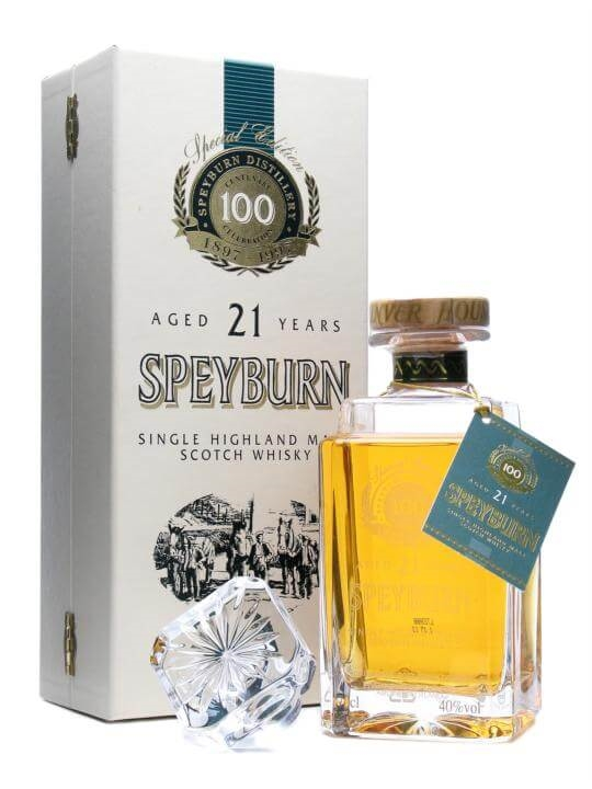 Speyburn 15 Year Old: Centenary Decanter Scotch Whisky