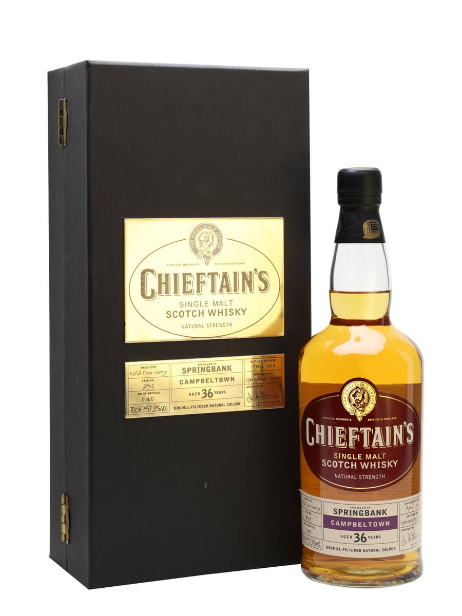 Springbank 1969 / 36 Year Old / FIno Sherry Cask / Chieftain's