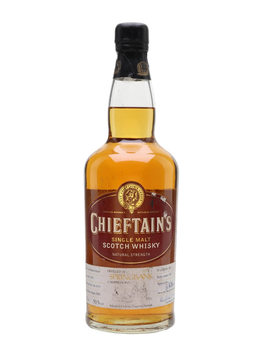 Springbank 1975 / 28 Year Old / Chieftain's