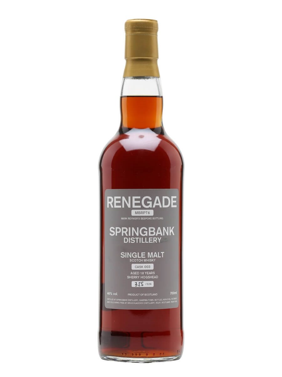 Springbank 1995 / 18 Year Old / Sherry Cask / Renegade