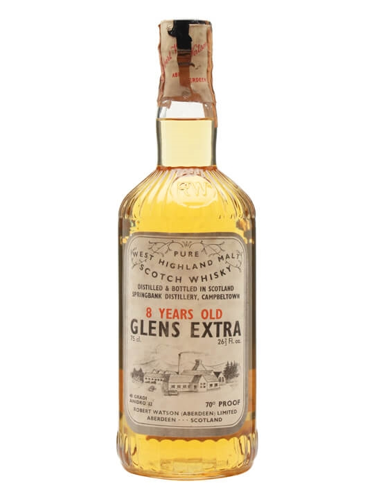 Glens Extra (Springbank) 8 Year Old / Bot.1960s