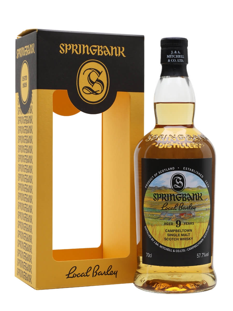 Review No.222. Springbank Local Barley 9 Year Old