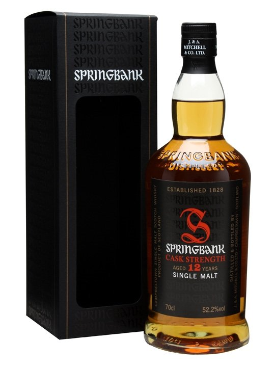 Springbank 12 Year Old Cask Strength / 2012 Edition
