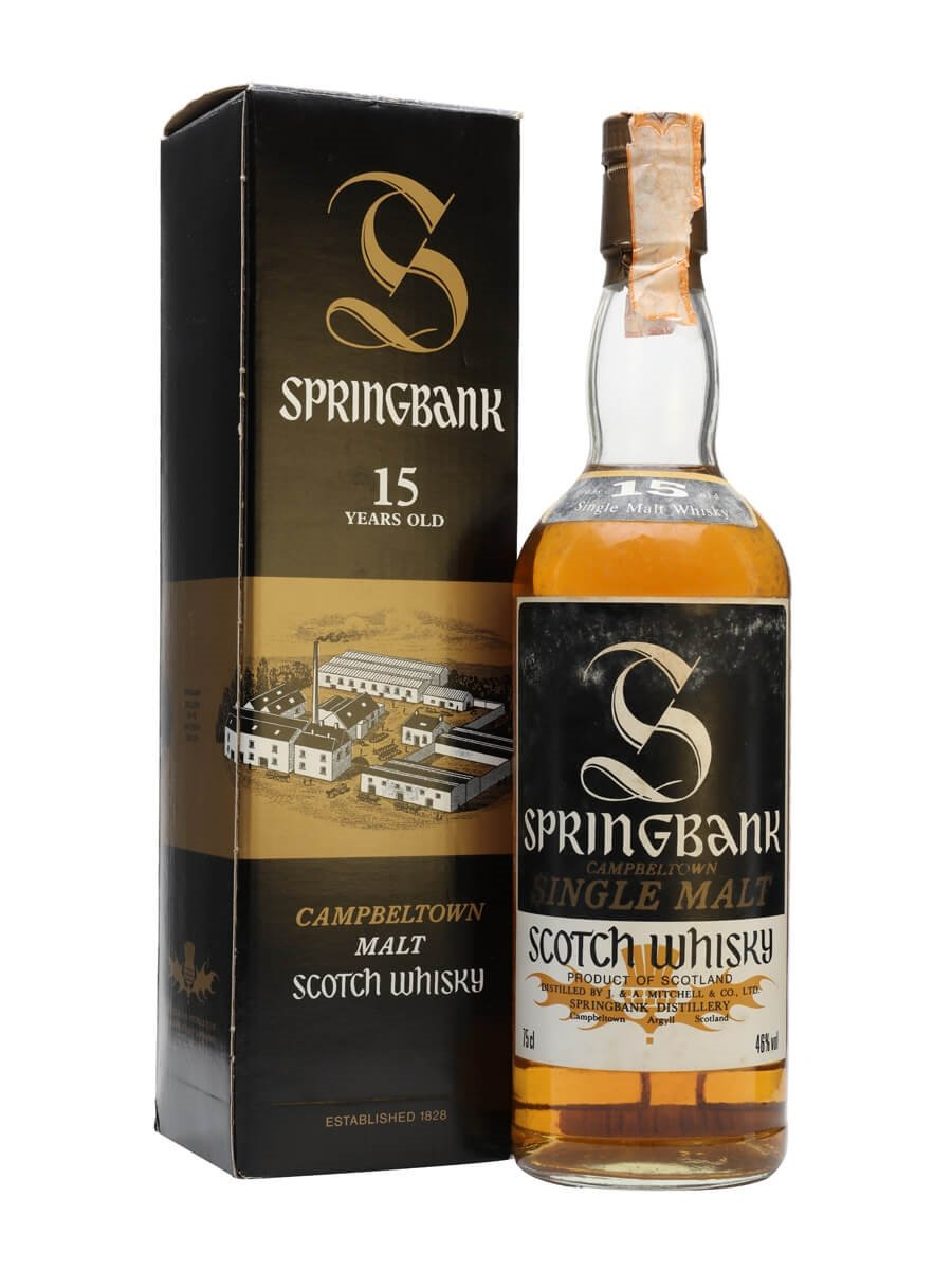 Springbank 15 Year Old / Bot.1980s