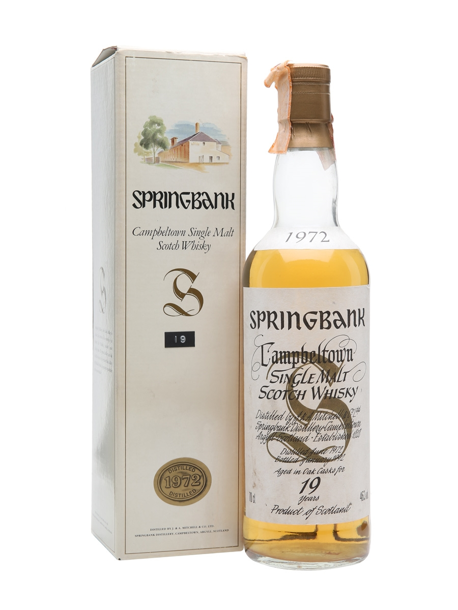 Springbank 1972 / 19 Year Old