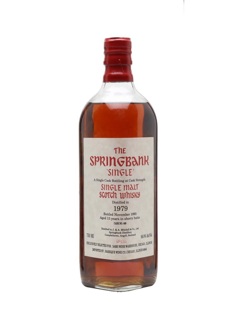 Springbank 1979 / 13 Year Old / Sherry Cask / Sam's Wine Warehouse