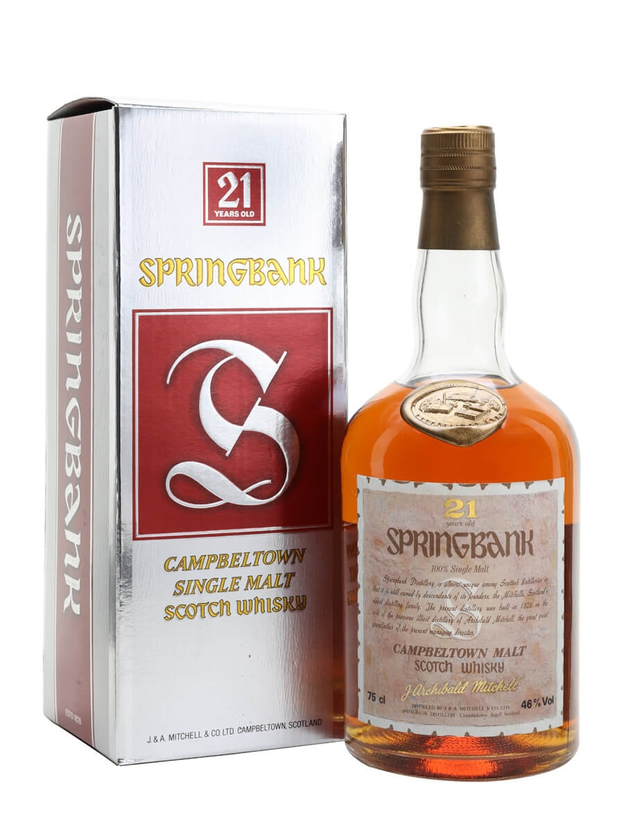 Springbank 21 Year Old / Bot.1980s