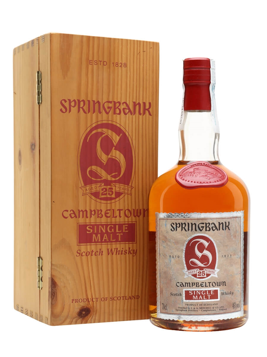 Springbank 25 Year Old / Bot.1990s