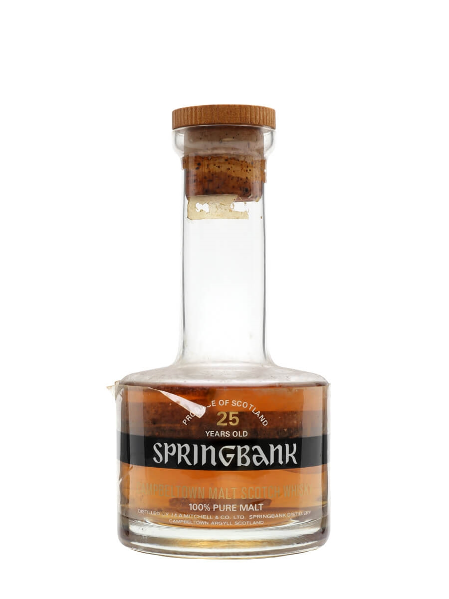 Springbank 25 Year Old / Bot.1970s
