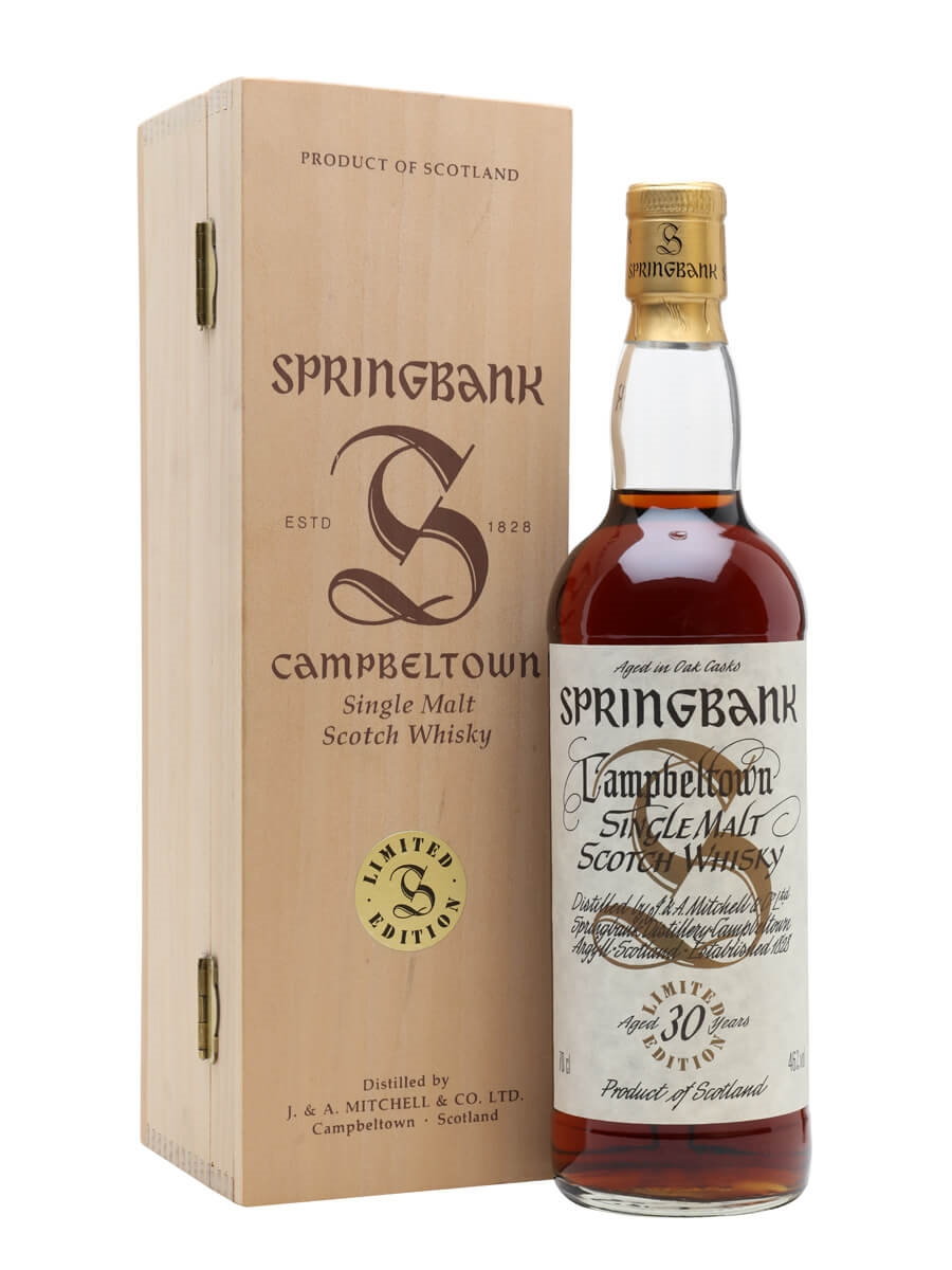 Springbank 30 Year Old / Sherry Cask / Millennium Series