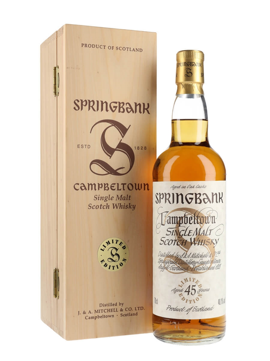 Springbank 45 Year Old / Millennium Series