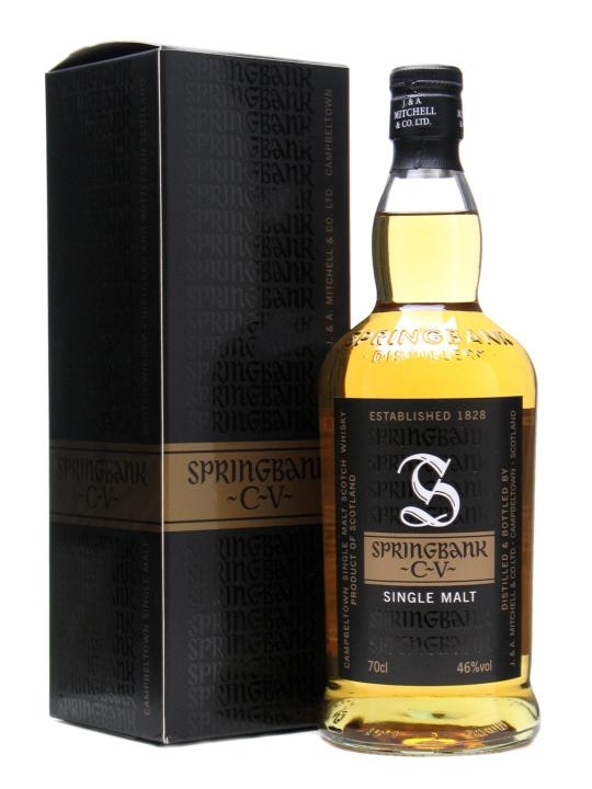 springbank cv scotch whisky   the whisky exchange