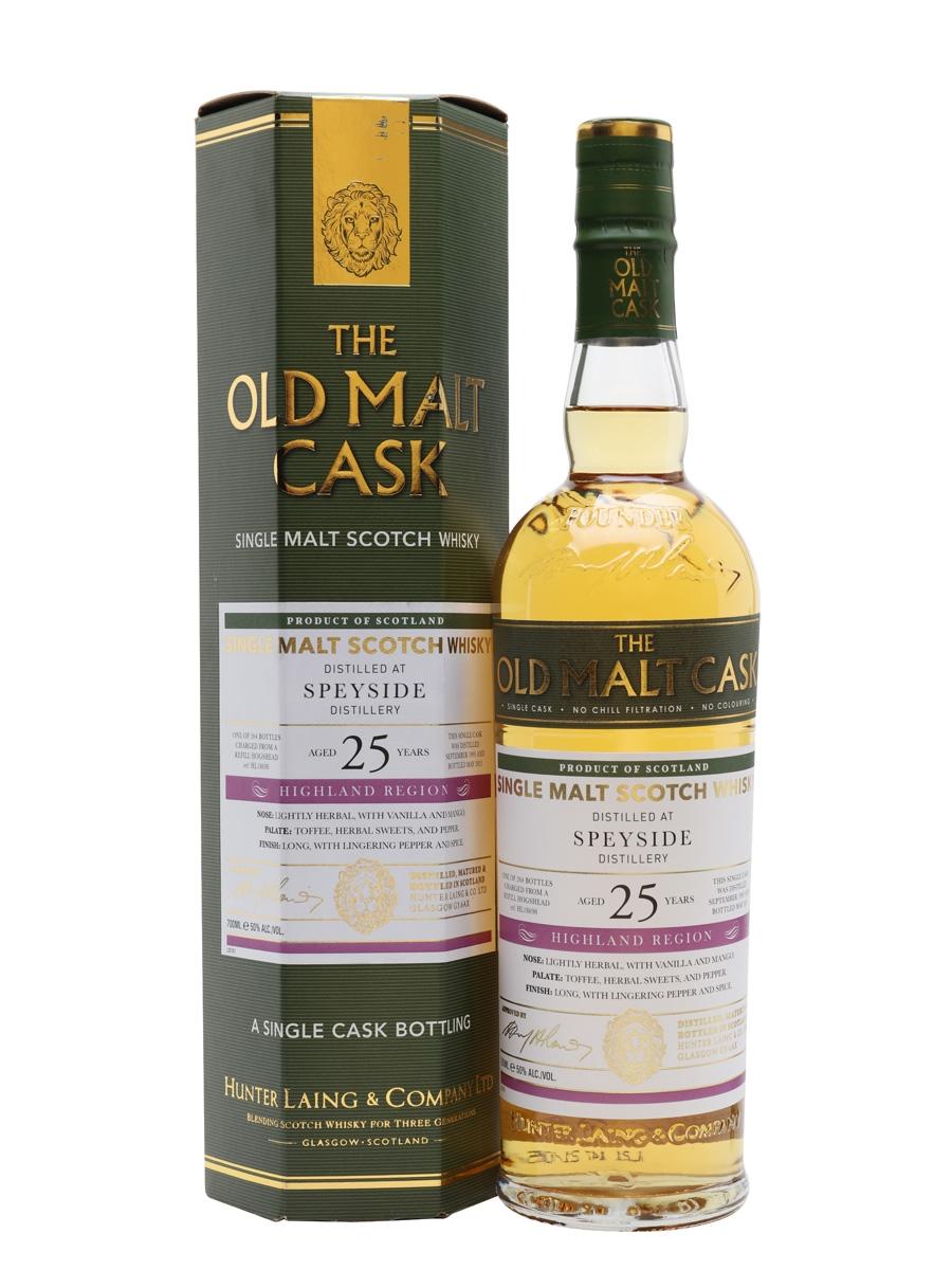 Speyside 1995 / 25 Year Old / Old Malt Cask