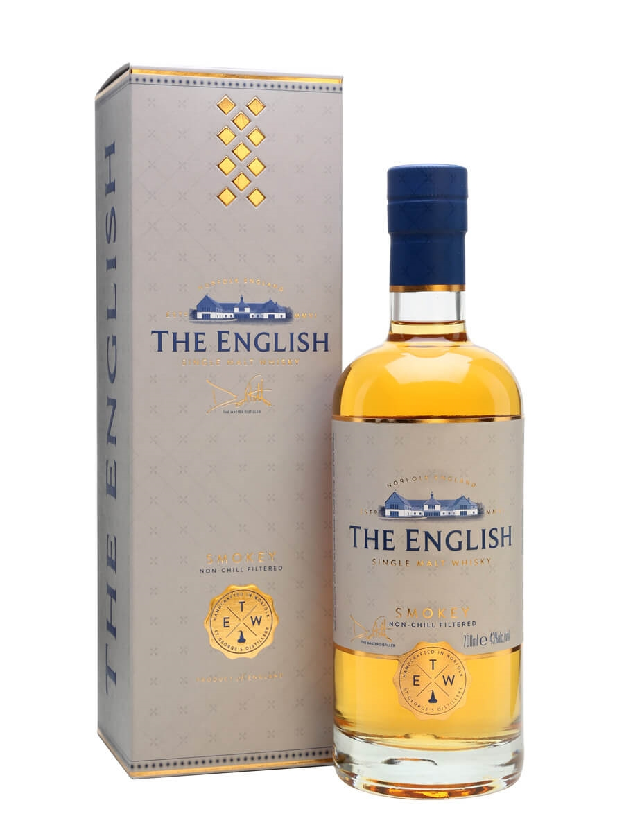 The English Smokey Single Malt Whisky