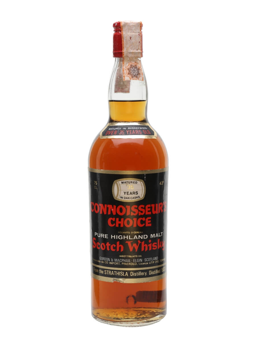 Strathisla 1937 / 35 Year Old / Sherry Wood / Connoisseurs Choice