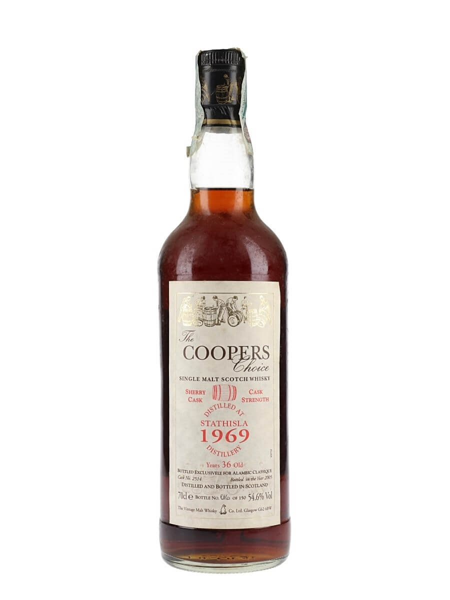 Strathisla 1969 / 36 Year Old / Sherry Cask / The Cooper's Choice