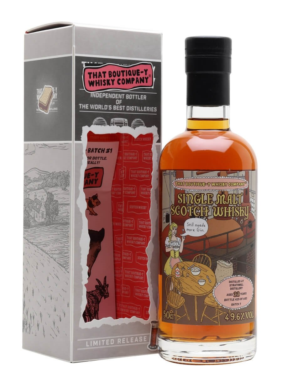 Strathmill 22 Year Old / Batch 7 / That Boutique-y Whisky Company