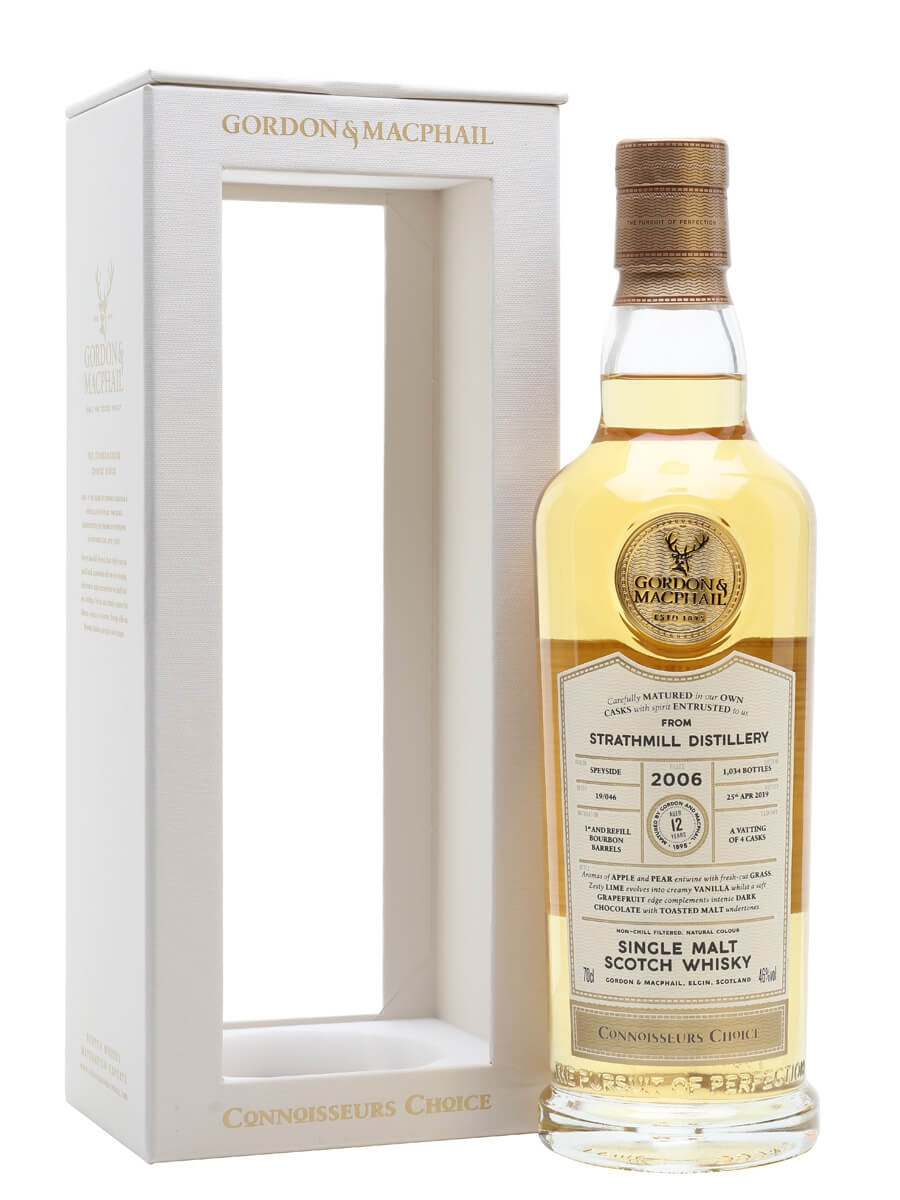 Strathmill 2006 / 12 Year Old / Connoisseurs Choice