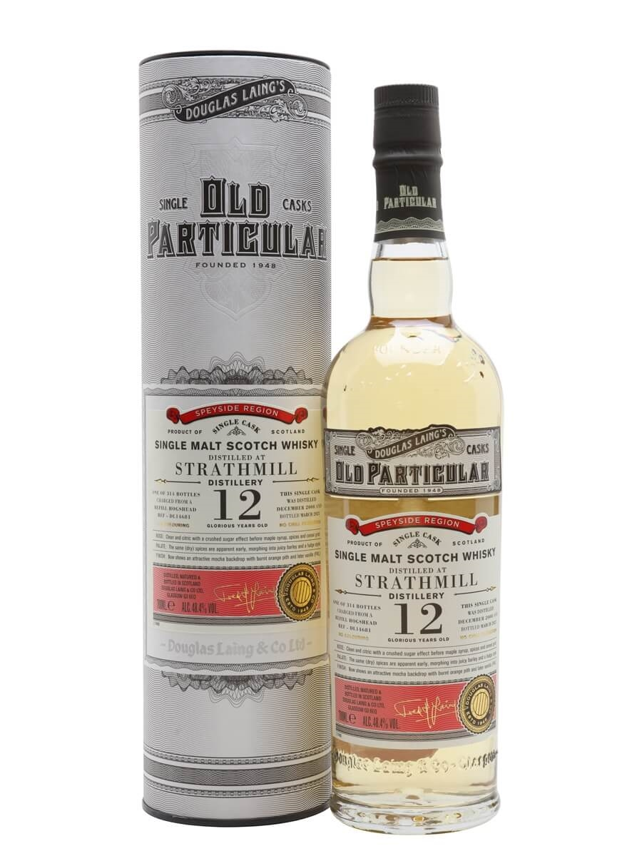 Strathmill 2008 / 12 Year Old / Old Particular