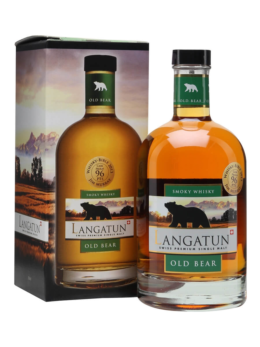 Langatun Old Bear 2010 / Peated / Cask Proof