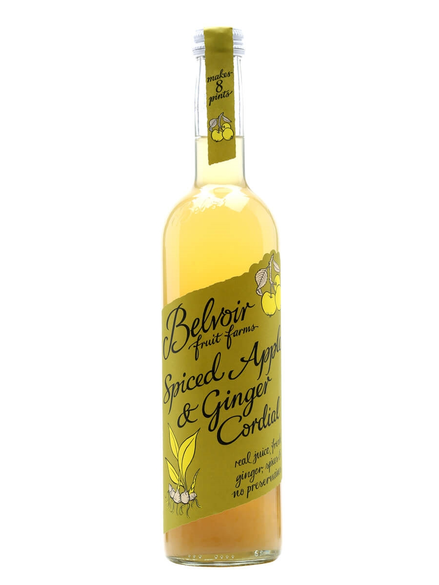 Belvoir Spiced Apple & Ginger Cordial : The Whisky Exchange