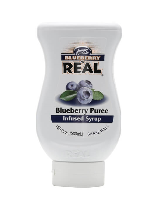 Re'al Blueberry Puree Infused Syrup