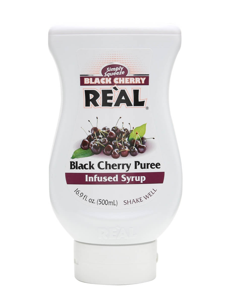 Re'al Black Cherry Puree Infused Syrup