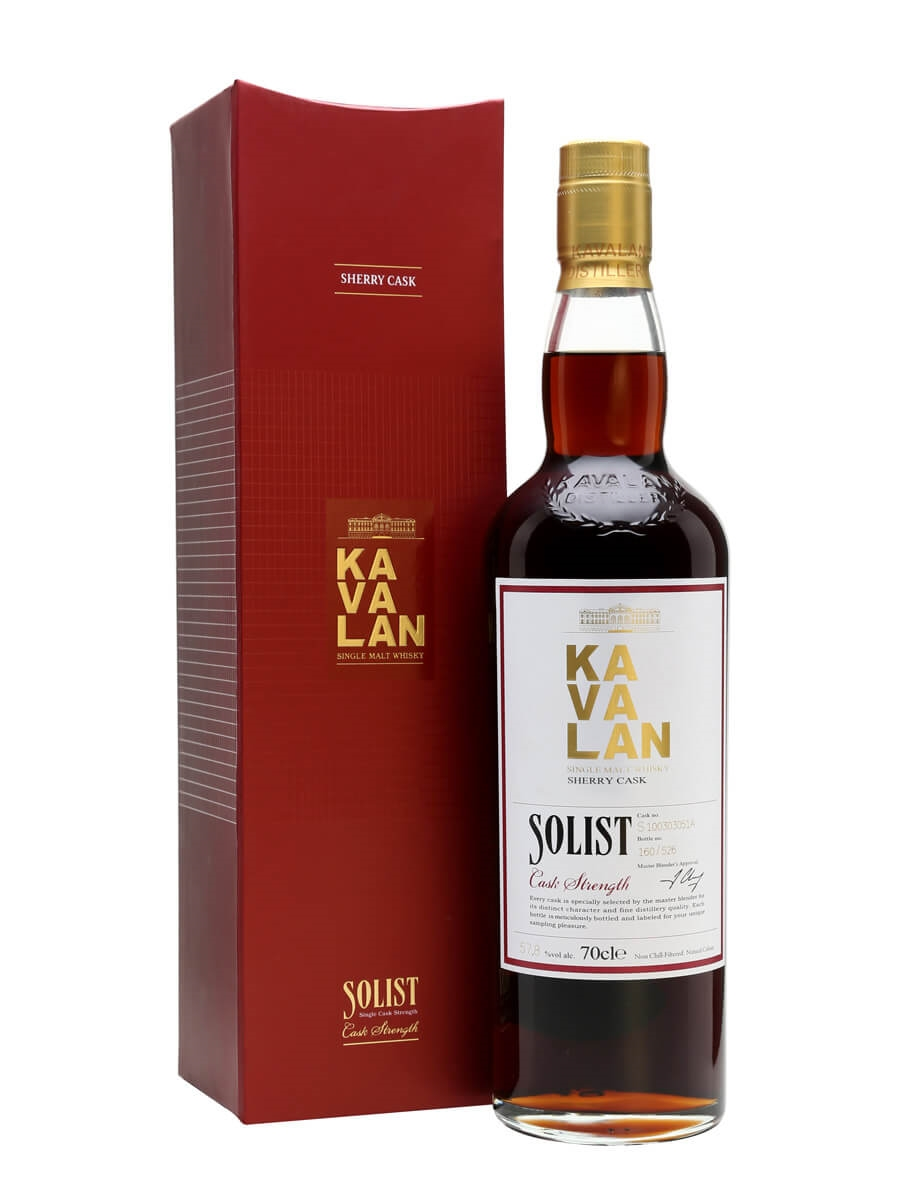 Kavalan Solist Sherry Cask Taiwanese Whisky