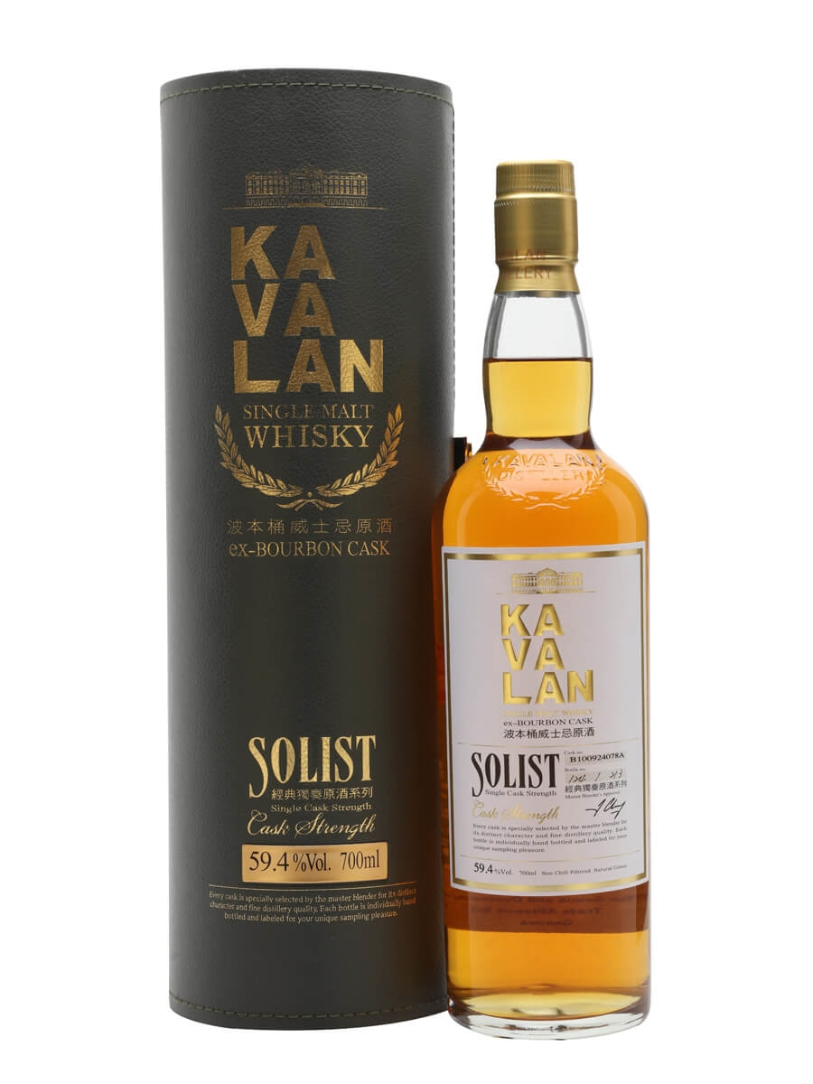 Kavalan Solist Bourbon Cask #078A (2010)