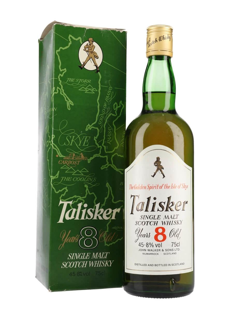 Talisker 8, vintage 2009, Diageo Special Releases 2018 (59.4%)
