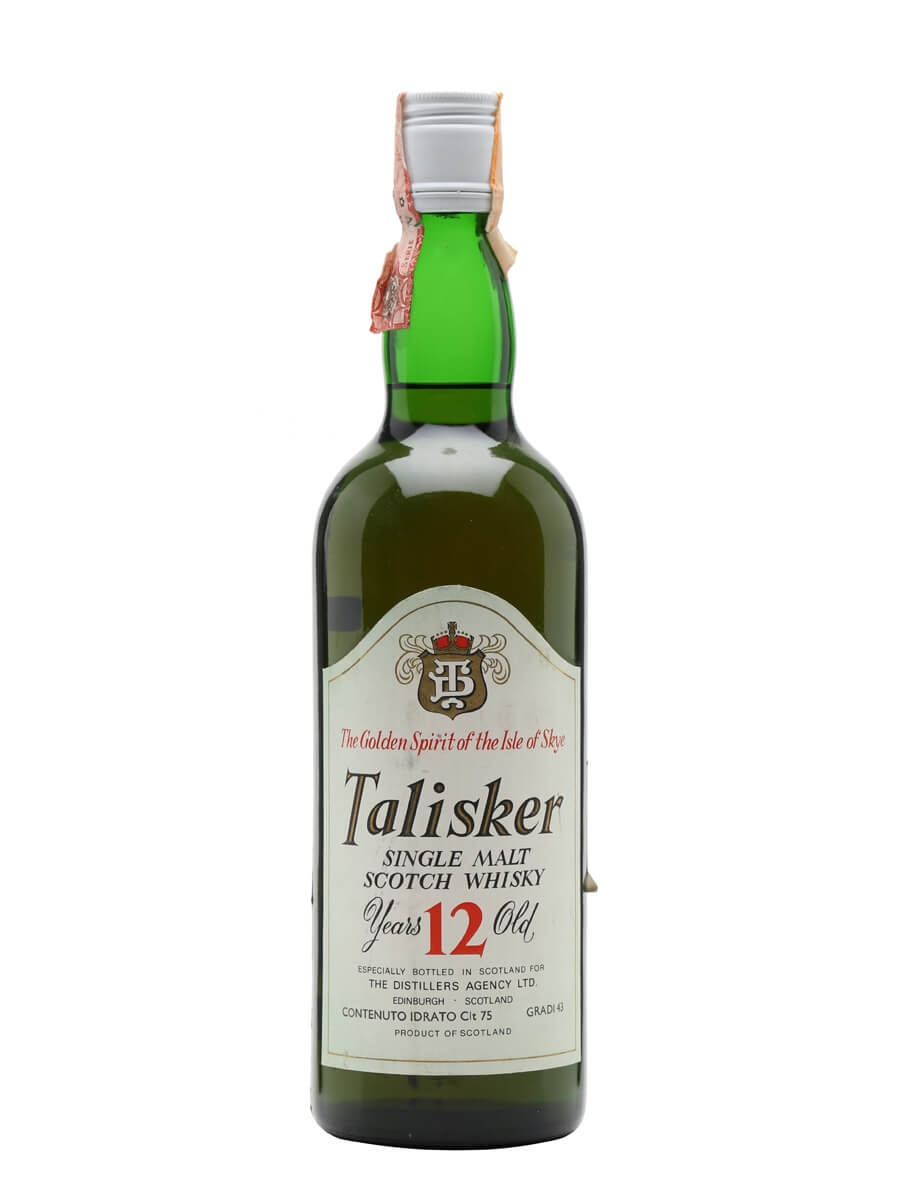 Talisker 12 Year Old / Bot.1970s