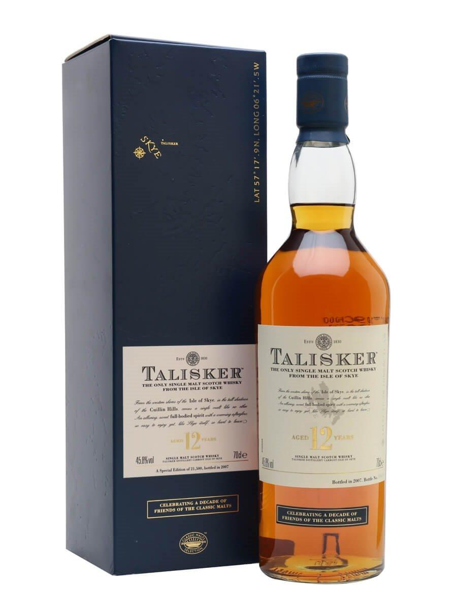 Talisker 12 Year Old / Friends of Classic Malts