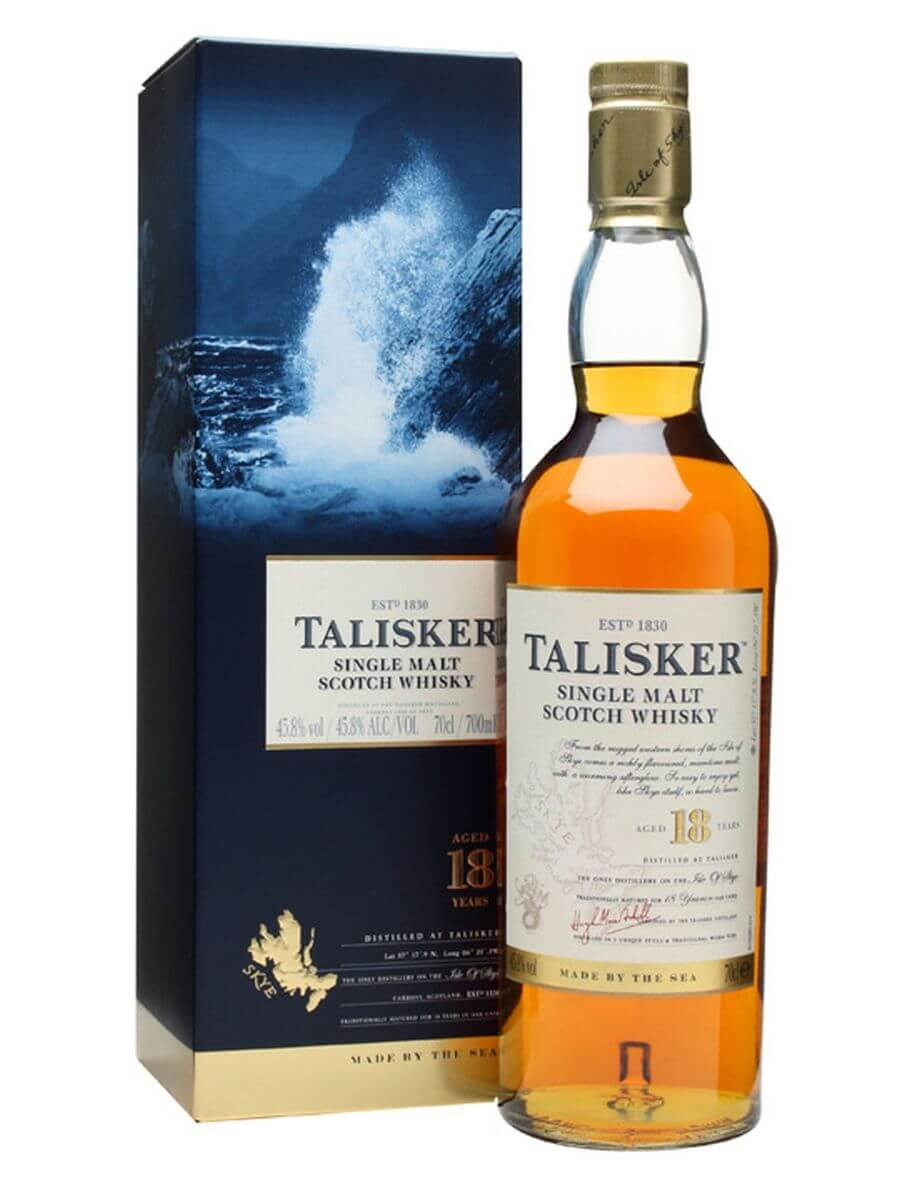 Review No.220. Talisker 18 Year Old