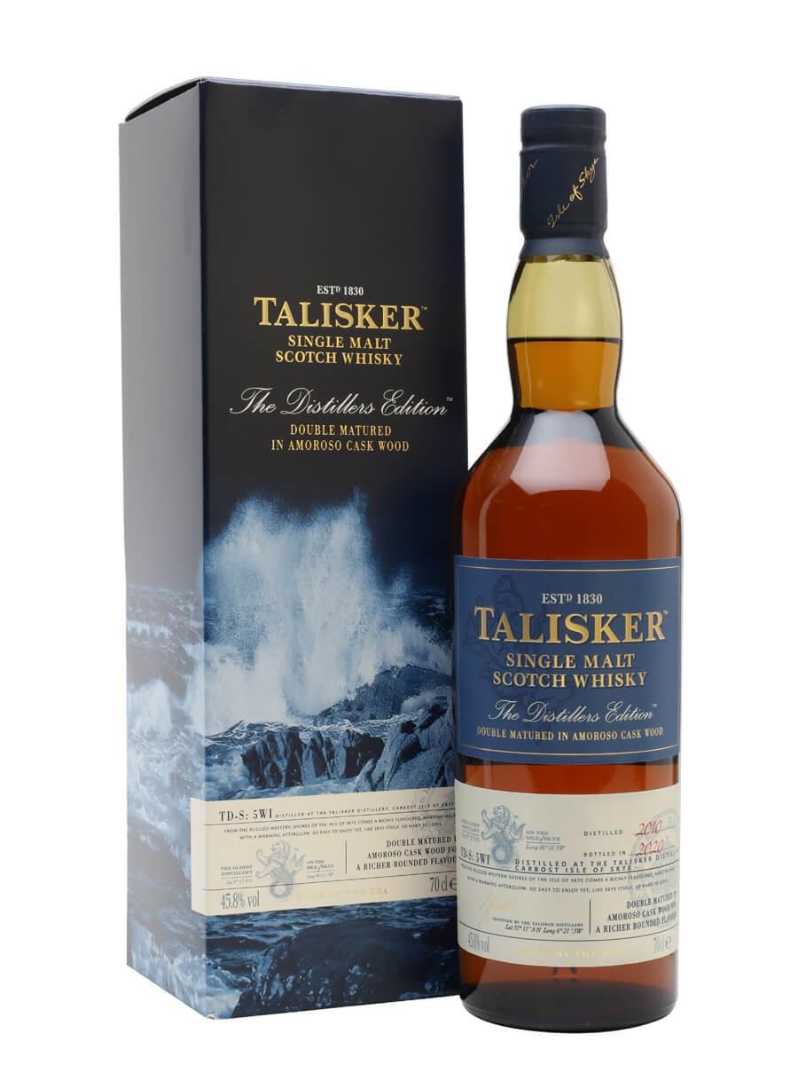 Talisker 2010 Distillers Edition / Bot.2020