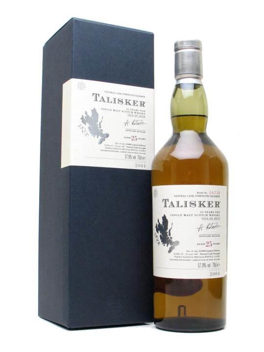 Talisker 25 Year Old / Bot.2004