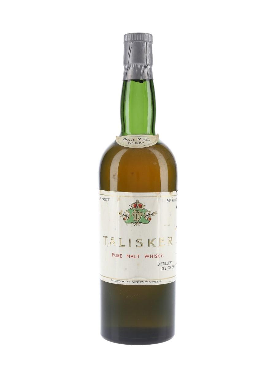 Talisker Pure Malt Whisky / Bot.1950s
