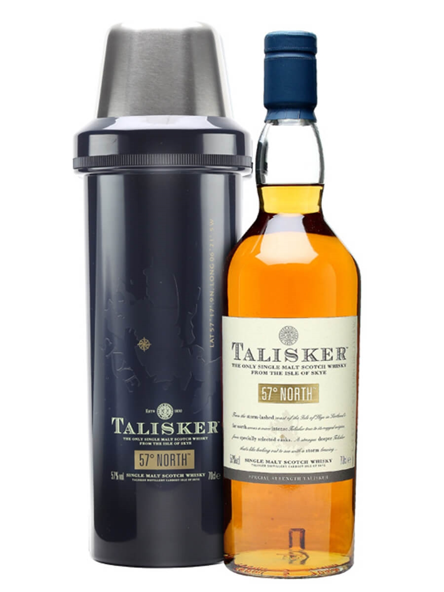 Talisker 57° North + Free Bottle Flask
