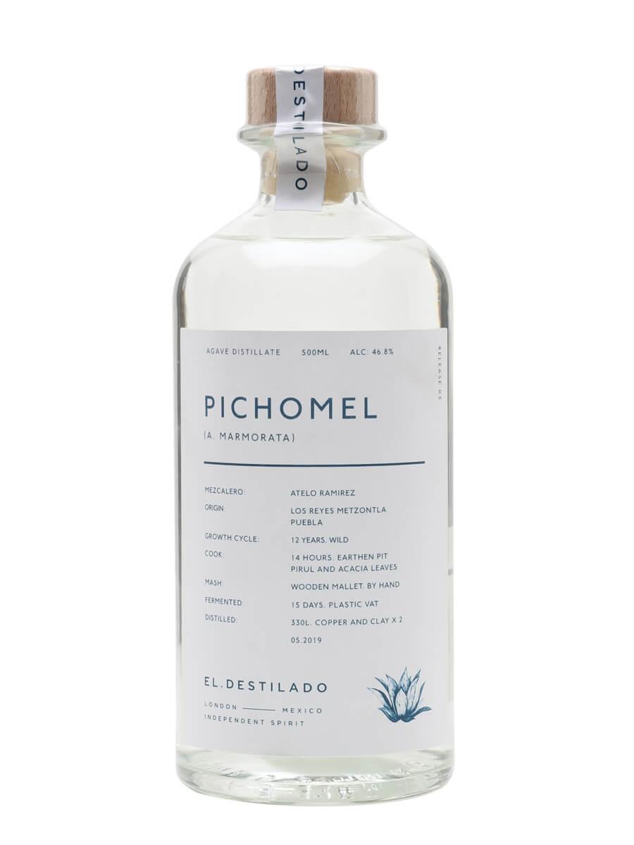 El Destilado Pichomel Mezcal