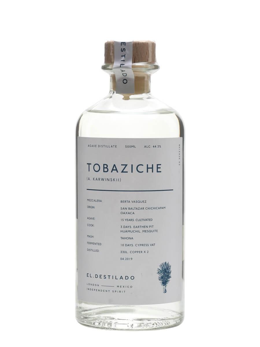 El Destilado Tobaziche Mezcal
