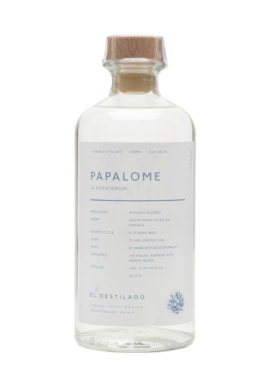El Destilado Papalome Mezcal