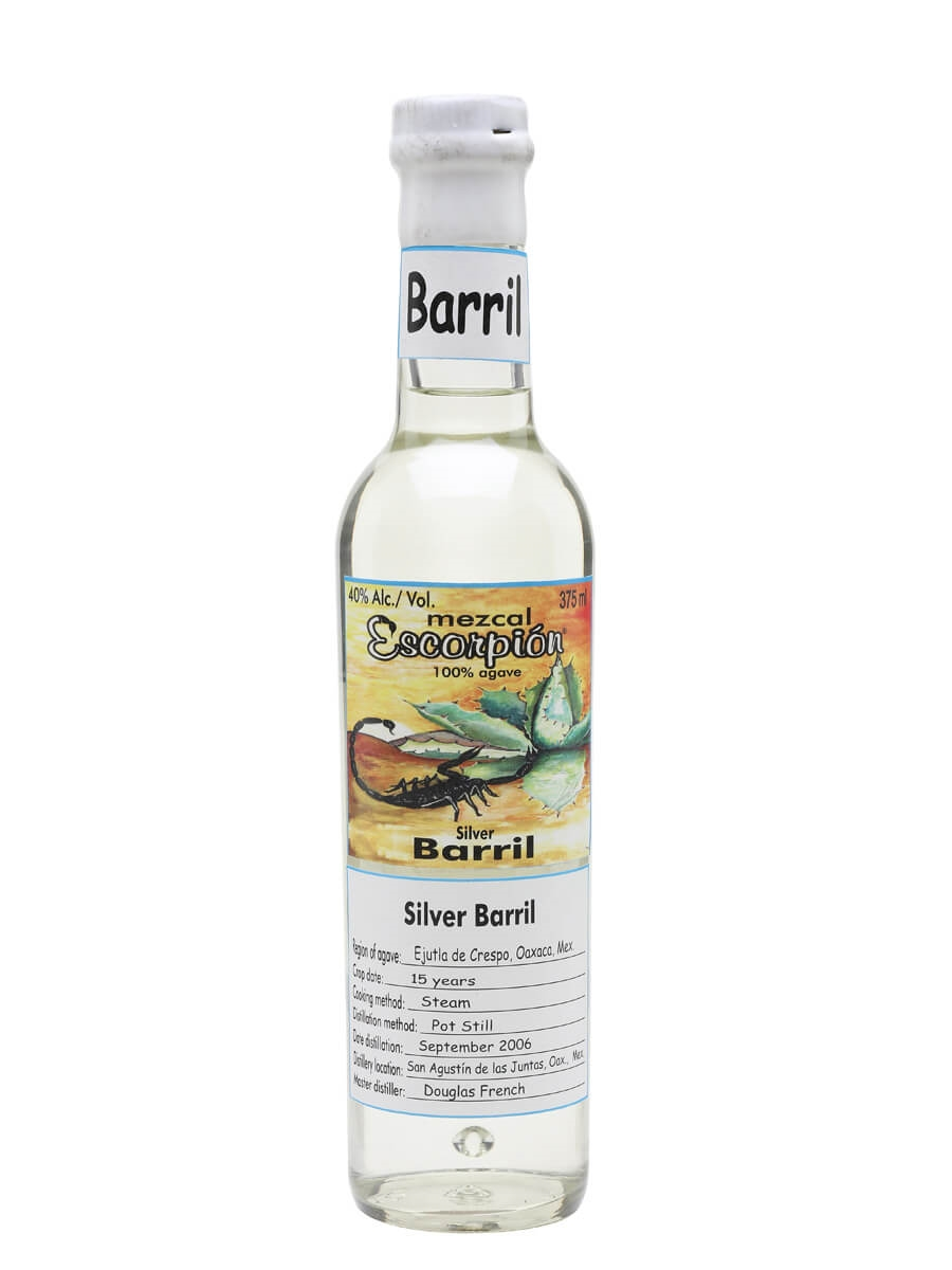 Escorpion Barril Mezcal / Half Bottle