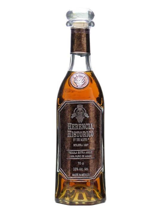 Herencia Historico 27 de Mayo 1997 Extra Anejo Tequila