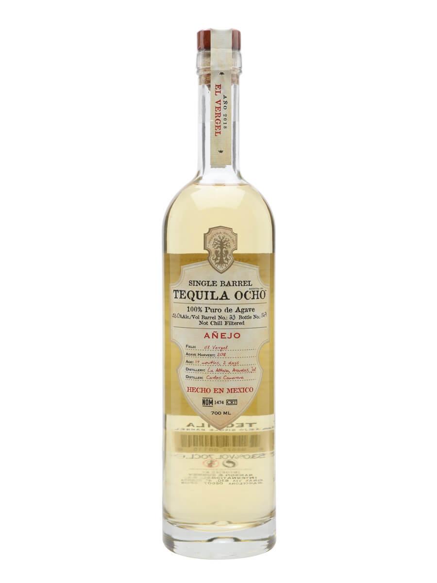 Ocho Anejo Single Barrel Tequila / Cask Strength