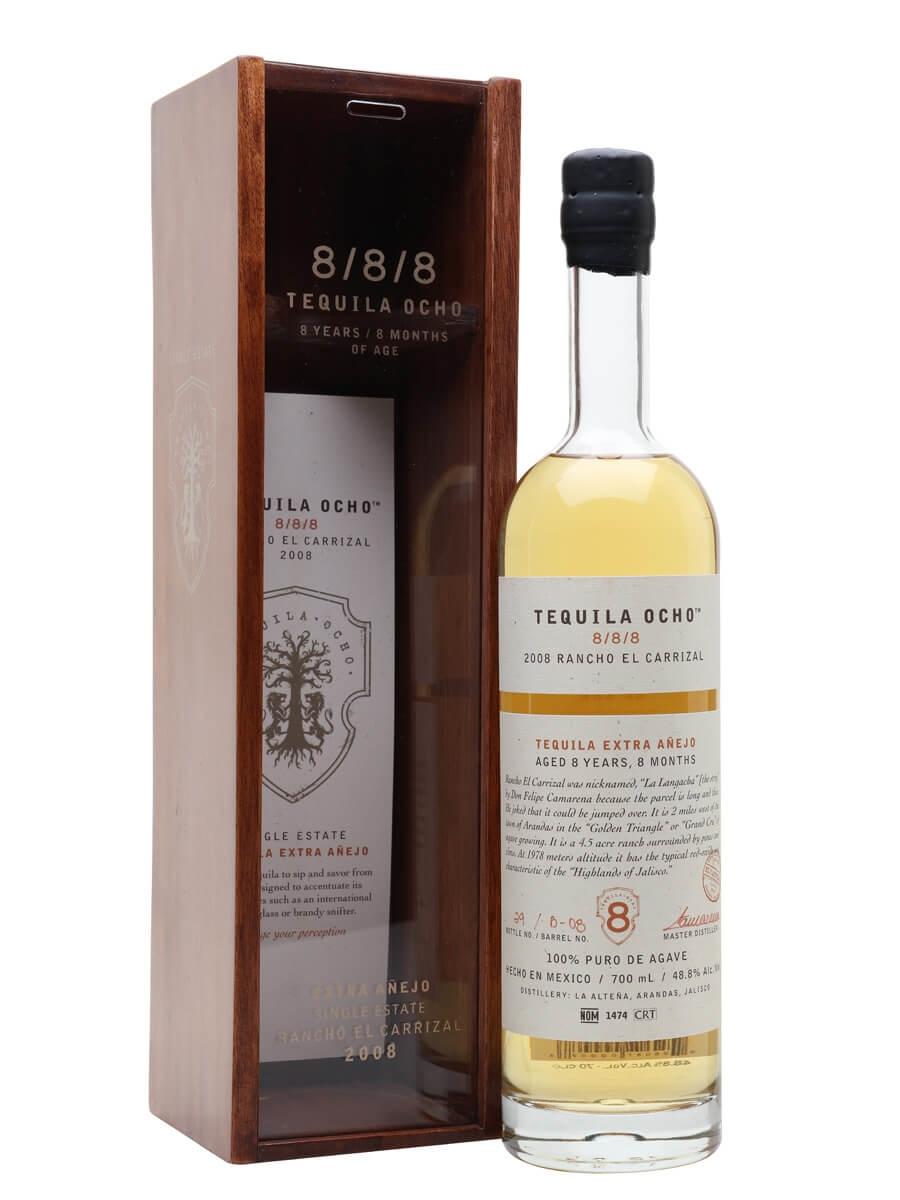 Ocho 8-8-8 Extra Anejo Tequila