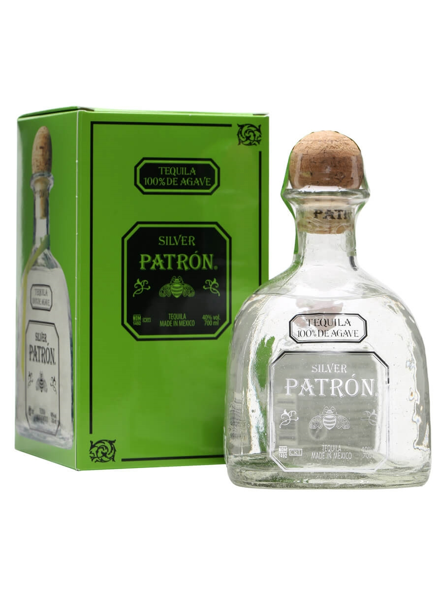 Patron Silver Tequila The Whisky Exchange